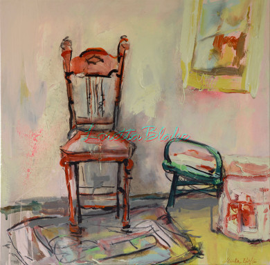 RECYCLED-CHAIR-individual-acrylic-charcoal